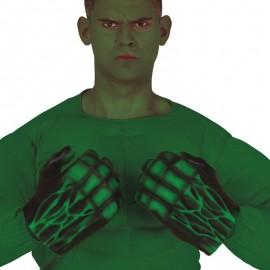Gants Verts Monstre Latex