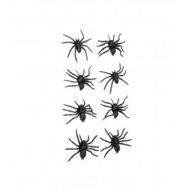 8 Araignées 6 cm