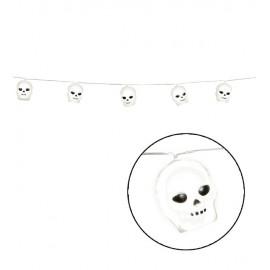Guirlande Lumineuse Crânes 180 cm