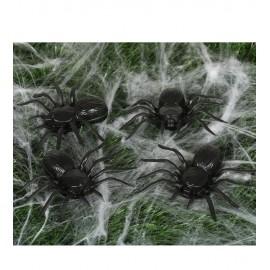 Araignées 10 cm en Plastique