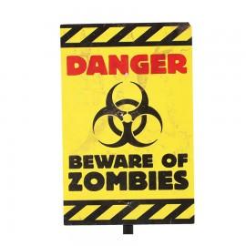 Signe de Danger Halloween 25X38cm