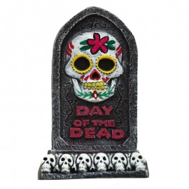 Tombe Día De Los Muertos en Résine 13 x 8 cm