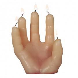 Bougie Main avec Sang 14 x 5 cm
