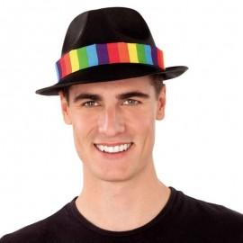 Chapeau de Gangster avec Bandeau