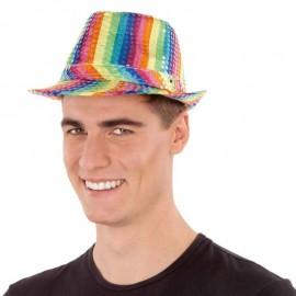 Chapeau Coloré avec de la Lumière