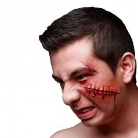 Cicatrices de Zombie en Latex