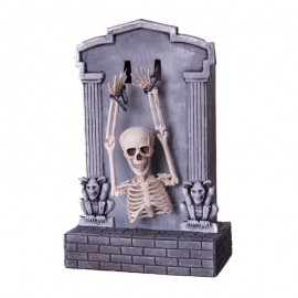 Tombeau de Squelette avec Lumière, Son et Mouvement