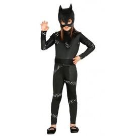 Déguisement de Cat Girl Noir pour Filles