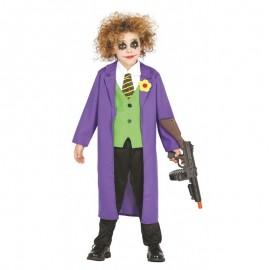 Déguisement Joker Fou pour Enfants