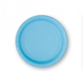 8 Assiettes en Carton 17,7 cm