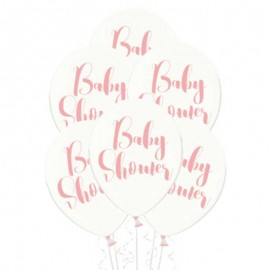 Ballons Baby Shower Fille