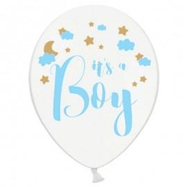 6 Ballons deIt's a Boy 30 cm