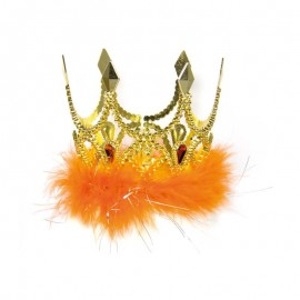 Couronne Princesse Or/Orange