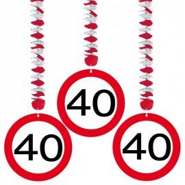 3 Pendentifs 40 Traffic