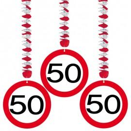 3 Pendentifs 50 Traffic