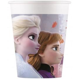 8 Gobelets La Reine des Neiges 2 en Papier 200 ml