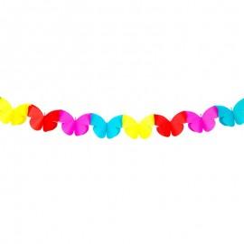 Guirlande Papillons 2 mètres