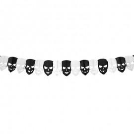 Guirlande Crânes 2 mètres