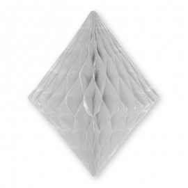 Lanterne Forme Diamant 30 cm