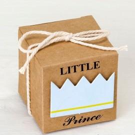 25 Boîtes Kraft Petit Prince 5 cm