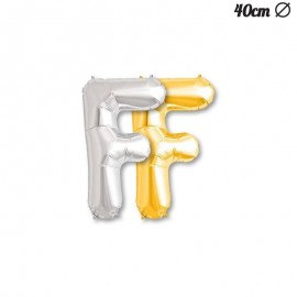 Ballon Mylar Lettre F 40 cm