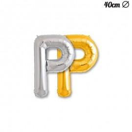Ballon Mylar Lettre P 40 cm