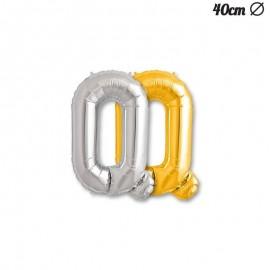 Ballon Mylar Lettre Q 40 cm