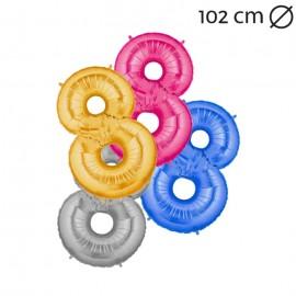 Ballon 102 cm en Mylar Chiffre 8