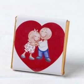 Chocolat Pit & Pita dans le Coeur