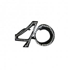 Lunettes Avec Le Numéro 40