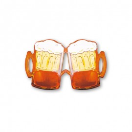 Lunettes Forme Pinte de Bière