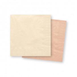 Serviettes en Papier Claires 33 cm