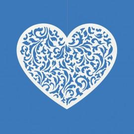 10 Coeurs Pour Décorer 12 x 10 cm