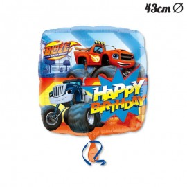 Ballon Mylar Happy Birthday Blaze 43 cm