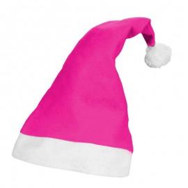 Bonnet de Noël Rose