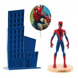 Kit avec Brochettes Spiderman pour Gateaux