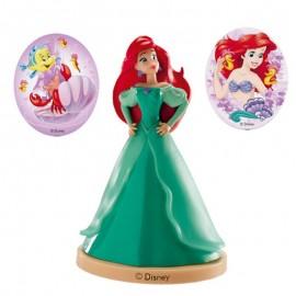 Kit avec Brochettes Princesse Ariel pour Gateaux