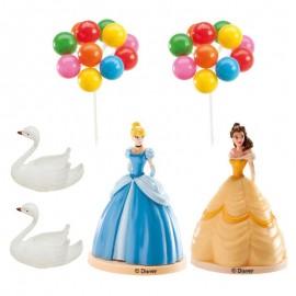 Kit Décoration Princesses pour Gâteau