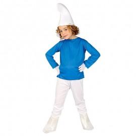 Déguisement de nain bleu pour enfant