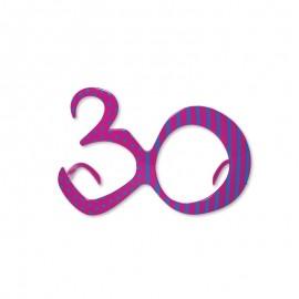 Lunettes Pour Anniversaire Numéro 30