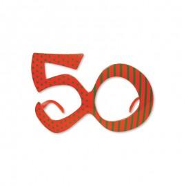 Lunettes Pour Anniversaire Numéro 50