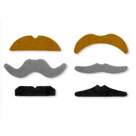 6 Fausses Moustaches