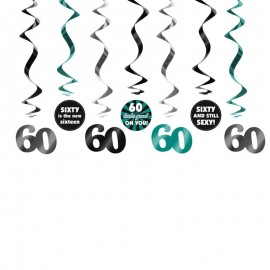7 Pendentifs 60 ans