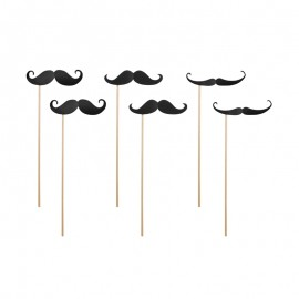 6 Moustaches Pour Photocall