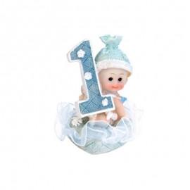 Figurine Garçon Premier Age 7 cm