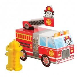 Centre de Table 3D Pompier