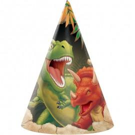 8 Chapeaux Dinosaures