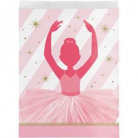 10 Sacs de Danseuse en papier