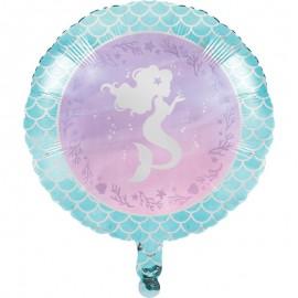 Ballon Aluminium Sirène