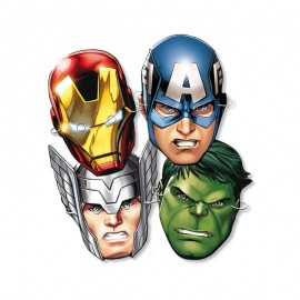 6 Masques The Avengers